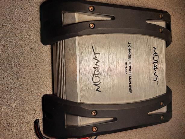 MUTANT 2 channel Power Amplifier MTPK12-A In Car Audio Amp