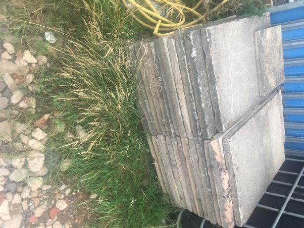 slabs, old council soncrete 3x2 66kg very heavy