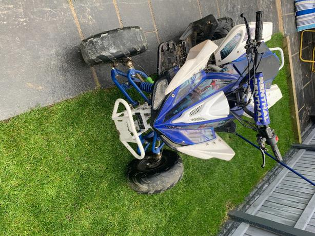 125cc quad bike