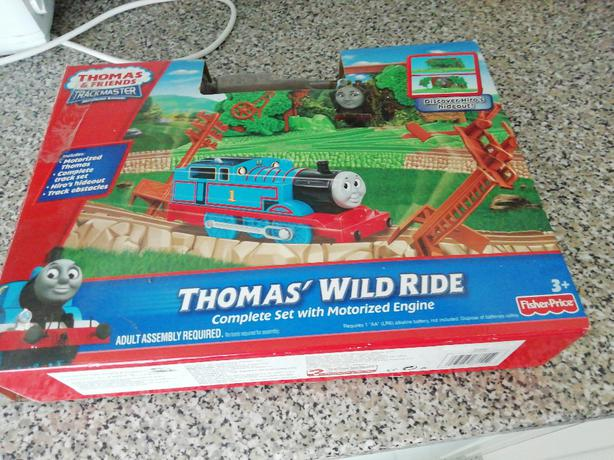 Thomas wild ride 3 years plus