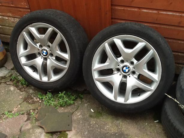 BMW X3 18 inch alloys