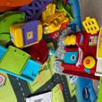vtech toot toot garage and fire station with play mat and track