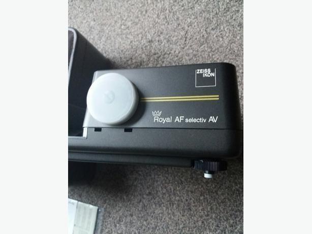 Vintage zeiss ikon royal AF selectiv AV Slide Projector