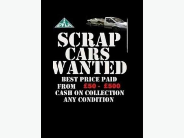 wanted cars and vans we will try beat any prices