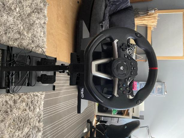 hori racing wheel and pedals