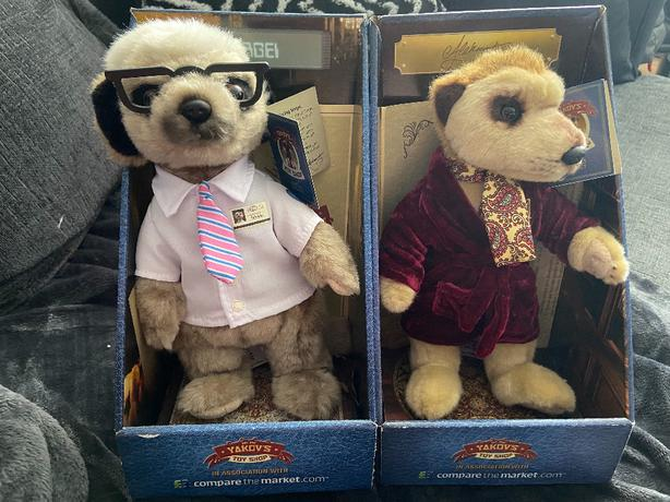 meerkat dolls sergi and alexander
