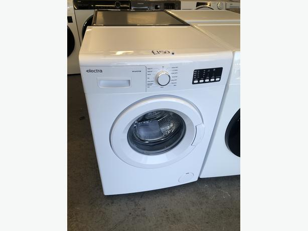PLANET APPLIANCE- GRADED ELECTRA 8KG WASHING MACHINE- WITH 6 MONTHS GUARANTEE