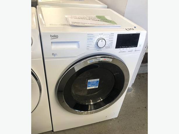 PLANET APPLIANCE- GRADED BEKO 8KG WASHER DRYER - WITH 6 MONTHS GUARANTEE