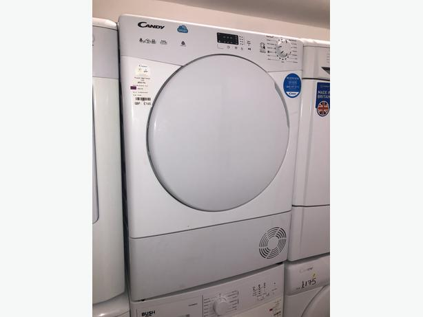 PLANET APPLIANCE- CANDY 8KG CONDENSER DRYER- WITH 3 MONTHS GUARANTEE