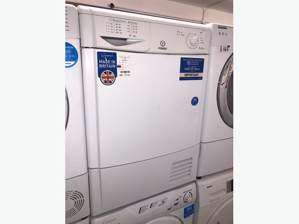 PLANET APPLIANCE- INDESIT 8KG CONDENSER DRYER- WITH 3 MONTHS GUARANTEE