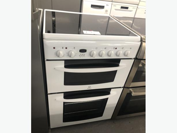 PLANET APPLIANCE- INDESIT 60CM ELECTRIC COOKER- WITH 3 MONTHS GUARANTEE