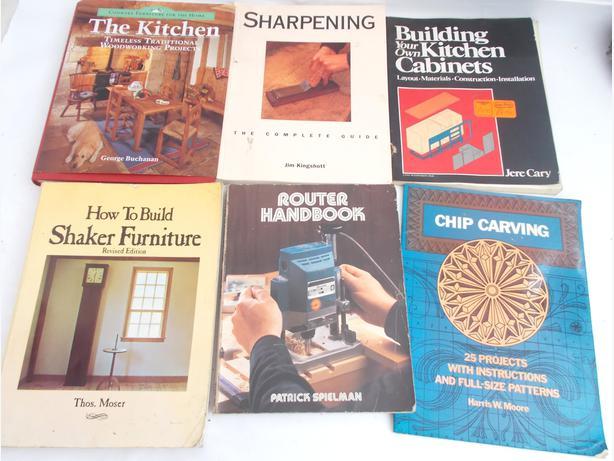 Joblot of 6 DIY Wood Work Books