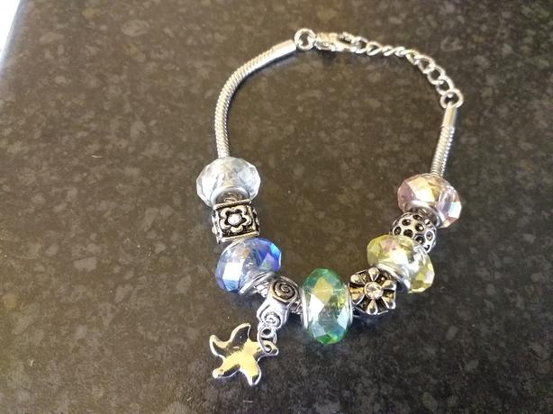 NEW BRACELET AND CHARMS