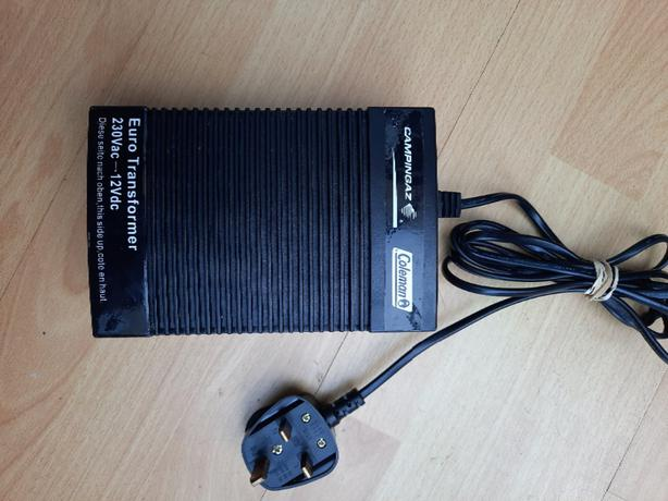 campingaz Coleman euro transformer 230Vac - 12VDC