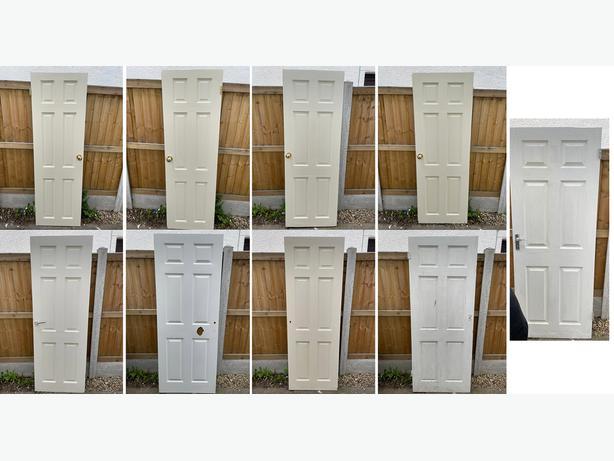 9 doors - 2 sets double Doors, plus 5 singles £15 for all