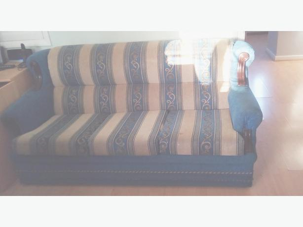 FREE: 3 Seater Sofa and Armchair