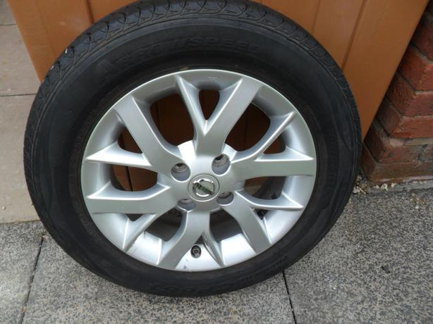 Nissan Note Spare Wheel