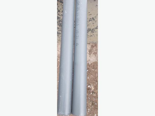 """2x Durapipe Grey 1"""" x 3m Water Pipe PVC-U"""