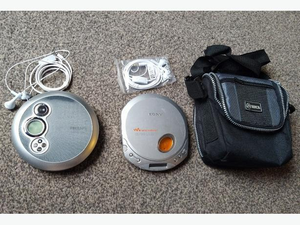 Philips and Sony cd-players