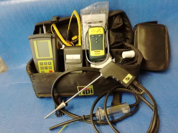 Flue gas analyser kit