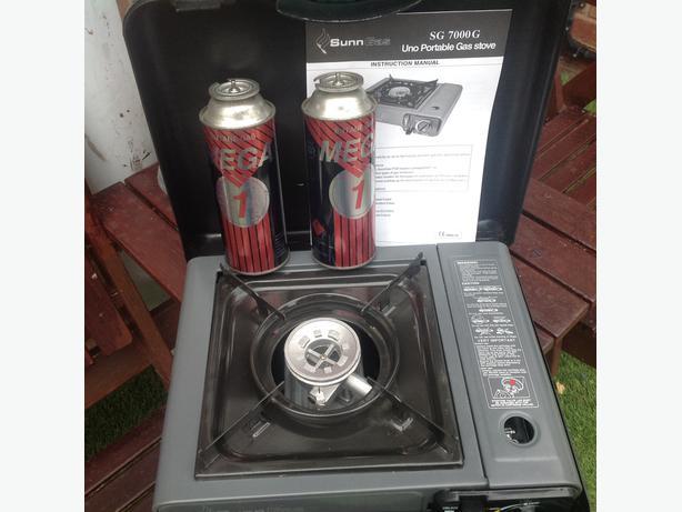 Camping or fishing stove