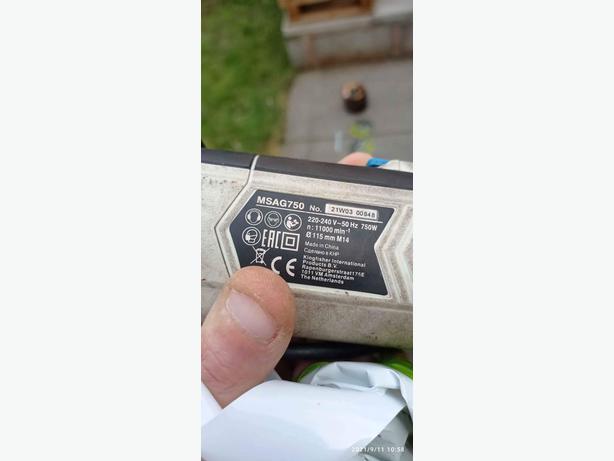 mac electric grinder