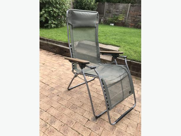 Lafuma folding sun lounger reclining chair