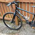 Carrera Gryphon flat bar road bike hybrid racer 43cm