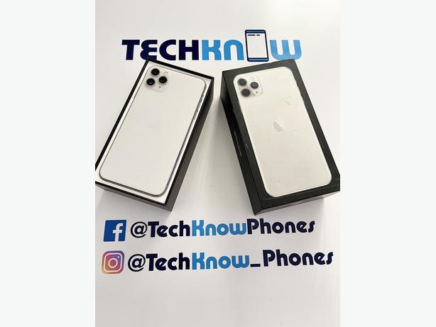 Apple iPhone 11 Pro Max 64GB unlocked (Silver) - £529.99