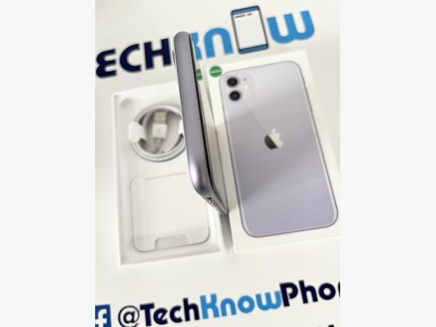 Apple iPhone 11 128GB unlocked Purple Boxed £399.99