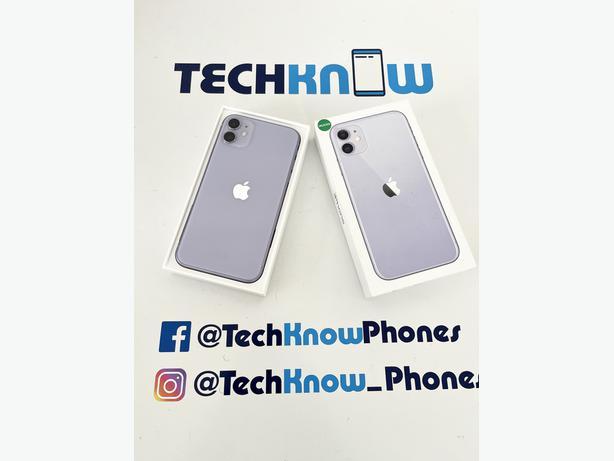 Apple iPhone 11 64GB unlocked Purple Boxed £379.99 + Apple warranty