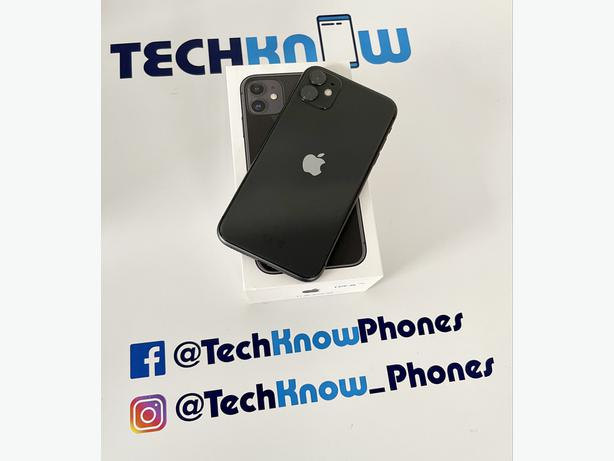 Apple iPhone 11 64Gb unlocked Black Boxed £349.99