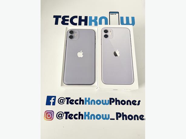 Apple iPhone 11 64GB unlocked Purple Boxed £349.99