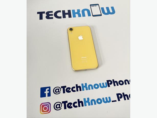 Apple iPhone XR 64GB Unlocked (Yellow) Boxed - £229.99