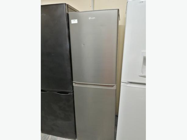 Swan Fridge freezer with warranty at Recyk Appliances