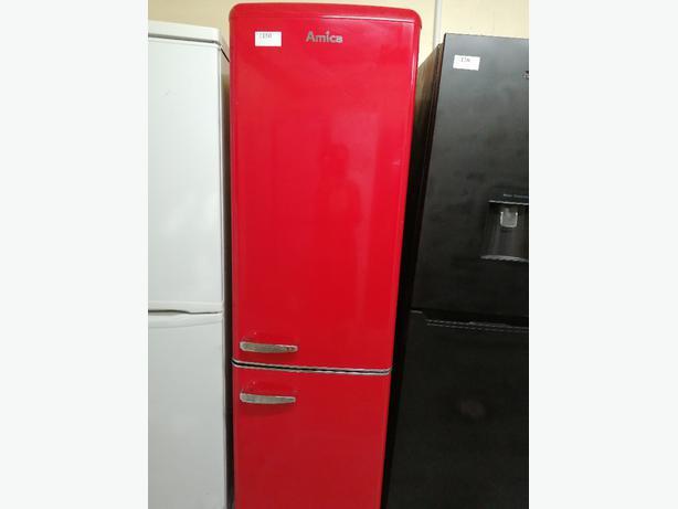 Amica  fridge freezer with warranty at Recyk Appliances