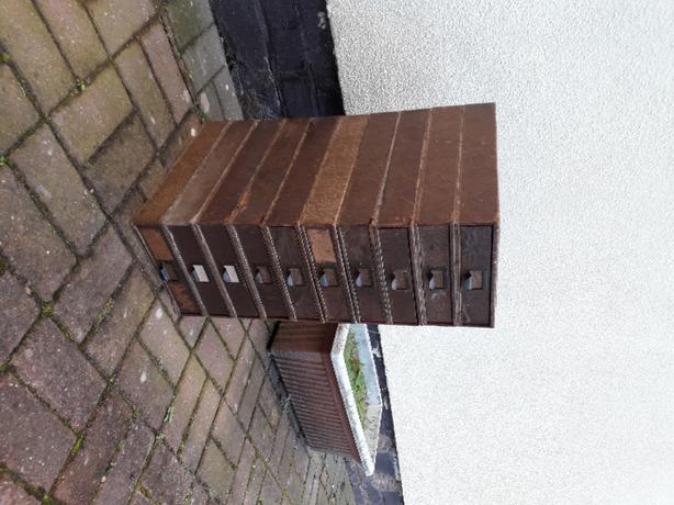 10 Shed Paper/Wood Drawers