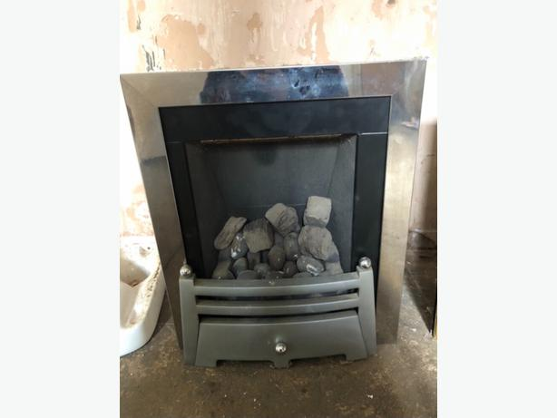 GAS FIRE INSETS x2