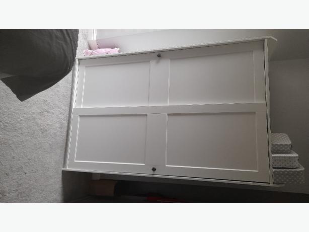 brand new white wardrobe