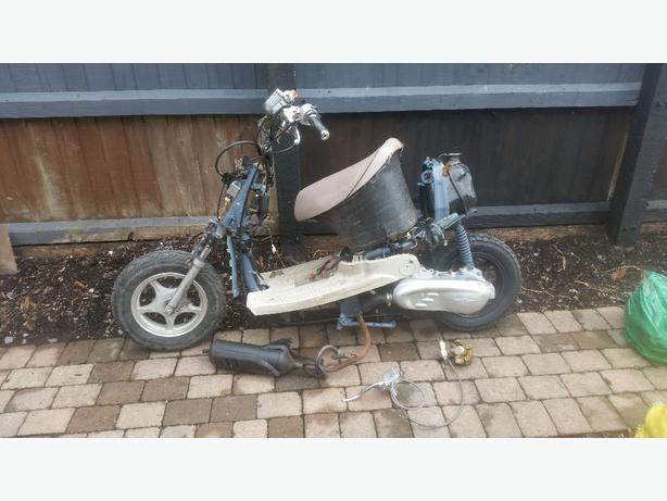 moped 49cc spare repair