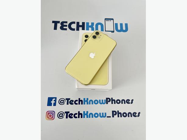 Apple iPhone 11 128GB unlocked Yellow Boxed - £379.99