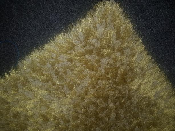 benita luxury shaggy green rug