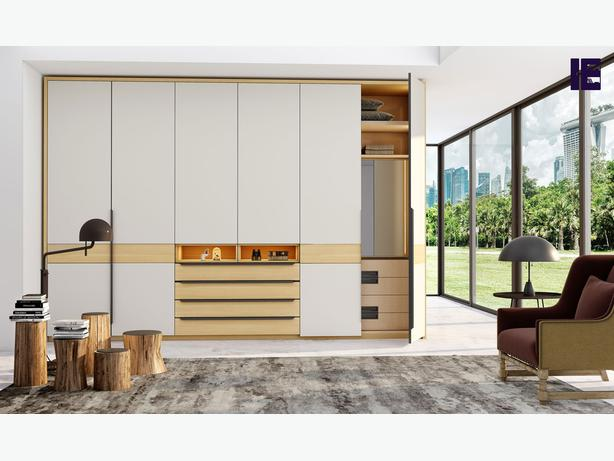 Made to Measure Wardrobes   Built in Wardrobe with Tv   Fitted Wardrobes