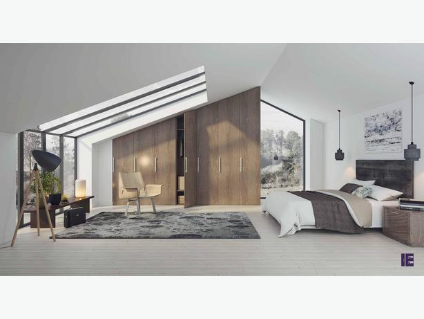 Loft Wardrobes | Attic Wardrobes | Wardrobes for Loft Rooms | London