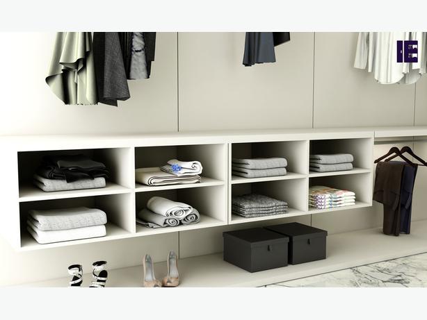 Wardrobe with Shoe Rack | Top of Wardrobe Storage | Internal Wardrobe Storage