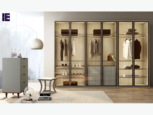 Wardrobes with Glass Doors   Fitted Mirrored Wardrobes   Glass Fitted Wardrobes