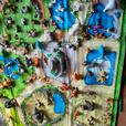 my zoo animals and books with mat