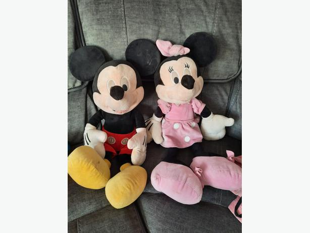 Minnie and Mikey mouse
