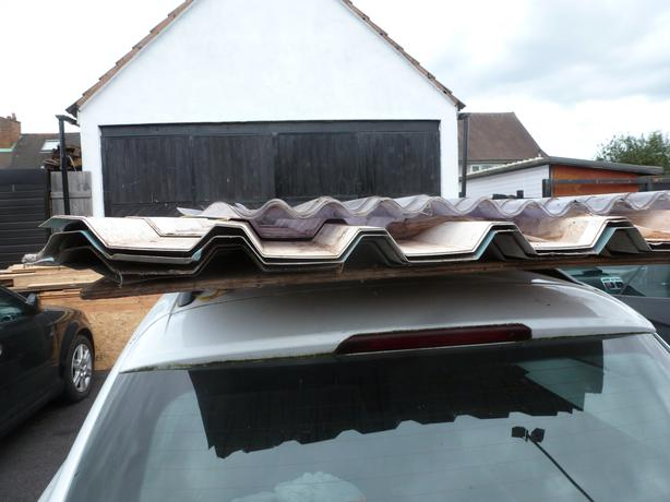 ROOFING SHEETS STEEL AND FIBER GLASS