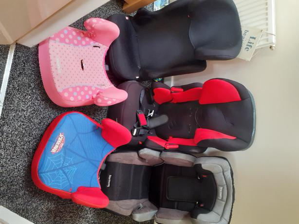 Children Car Seats Starting From £5